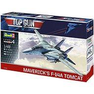 Plastic ModelKit letadlo 03865 - Maverick's F-14A Tomcat 'Top Gun'  - Model letadla