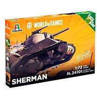 Easy to Build World of Tanks 34101 - Sherman - Model tanku