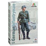 Model Kit figurka 7407 - German Infantryman - Plastikový model