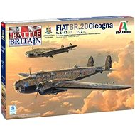 Model Kit letadlo 1447 - Fiat BR.20 Cicogna - Model letadla