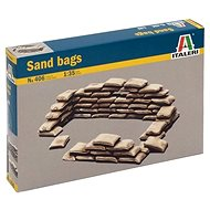 Model Kit doplňky 0406 - SANDBAGS - Příslušenství pro modeláře