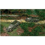 Fast Assembly military 7509 - M3A1 HALF TRACK - Model tanku