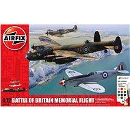 Gift Set letadla A50182 - Battle of Britain Memorial Flight - Plastikový model