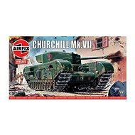 Classic Kit VINTAGE tank A01304V - Churchill Mk.VII - Model tanku