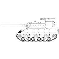 """Classic Kit tank A1366 - M36/M36B2 """"Battle of the Bulge"""" - Model tanku"""