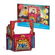 Domeček na vybarvení - Dětské divadlo - Vyrábění pro děti