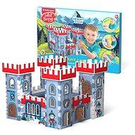 Domeček na vybarvení - Rytířský hrad - Vyrábění pro děti