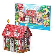 Domeček na vybarvení - Vesnický domeček - Vyrábění pro děti