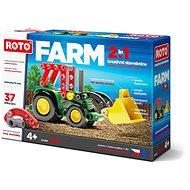 Roto 2v1 Traktor, 37 dílků - Stavebnice