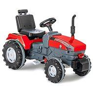 Jamara Šlapací traktor Power Drag červený - Šlapací traktor