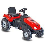 Jamara Šlapací traktor Big Wheel červený - Šlapací traktor