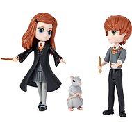 Figurky Harry Potter Trojbalení přátel Ron, Ginny, Arnold a Prašivka