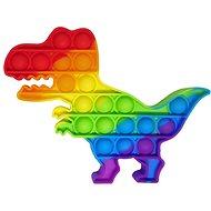 Pop it - rainbow dinosaur