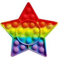 Pop it - rainbow star