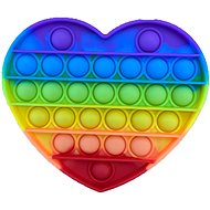 Pop it - rainbow heart