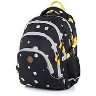 Karton P+P - Školní batoh Oxy Scooler Daisy black - Školní batoh