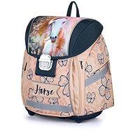 Karton P+P - Školní batoh Premium Light kůň romantic - Aktovka