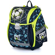 Karton P+P - Školní batoh Premium Light fotbal - Aktovka