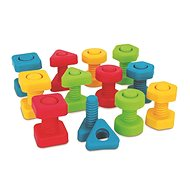 Teddies Screws and Nuts for Little Ones 24 pcs