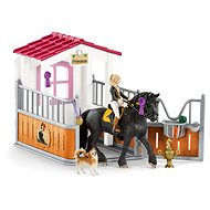 Schleich Stable with horse club, Tori + Princess