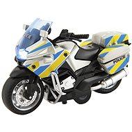 Teddies Police Motorbike 12cm on Reverse CZ