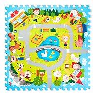 """Pěnové Puzzle """"Vesnice"""", 9 ks - Pěnové puzzle"""