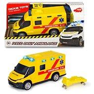 Dickie Ambulance Iveco, česká verze, 18 cm - Auto