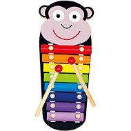 Bino Xylofon kovový Opička