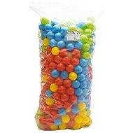 Dolu 500 barevných plastových míčků - 9cm - Míčky
