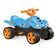 Hot Wheels Dětská šlapací čtyřkolka modrá - Šlapací čtyřkolka