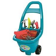 Ecoiffier Zahradní vozík s nářadím, květináči a konvičkou - Vozík
