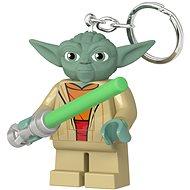 LEGO Star Wars - Yoda se světelným mečem - Klíčenka
