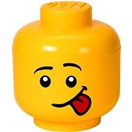 LEGO Úložná hlava Silly - velká - Úložný box