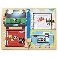 Melissa-Doug Odemykání zámků s obrázky - Didaktická hračka