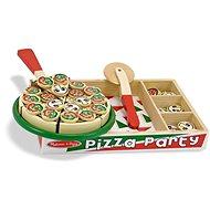 Melissa-Doug Dřevěná pizza - Herní set