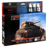 Italeri Set World of Tanks 74002 - Sherman - Plastový model