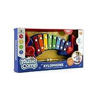 Teddies Xylofon plast/kov  - Hudební hračka