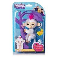 Fingerlings - Opička Sophie, bílá - Interaktivní hračka