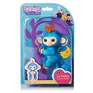 Fingerlings - Opička Boris, modrá - Interaktivní hračka