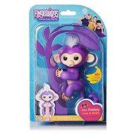 Fingerlings - Opička Mia, fialová - Interaktivní hračka