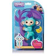 Fingerlings - Opička Zoe, tyrkysová - Interaktivní hračka