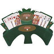 Držák na karty (zelená textilie) - Příslušenství