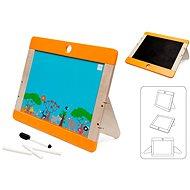 Scratch Dřevěná tabule na kreslení Safari oboustranná - Dřevěná hračka