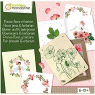 Avenue Mandarine Kreativní sada Lisování květin - Kreativní sada