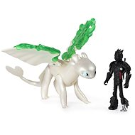 Draci 3 Drak a viking - Hiccup & Lightfury Legends evolved - Figurka