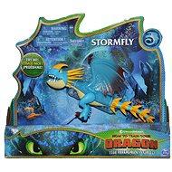 Draci 3 Velký drak 28cm - modrý - Figurka
