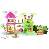 Hatchimals Svítící hrací sada Tropická párty - Herní set