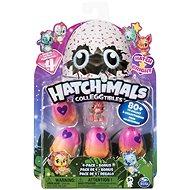 Hatchimals Zářící zvířátka čtyřbalení s bonusem - Figurky