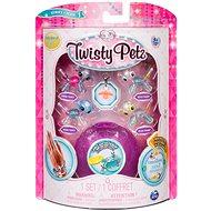 Twisty Petz 4 náramky zvířecích miminek - Puppy a Panda