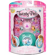 Twisty Petz 4 náramky zvířecích miminek - Kitty a Unicorn - Náramek